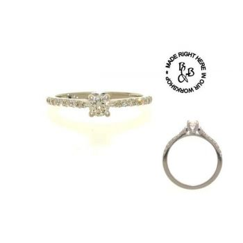 Signature Series Engagement Ring 0.24ct