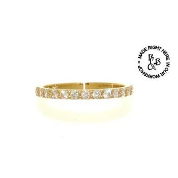 Signature Series, Yellow Gold Diamond Wedding Ring