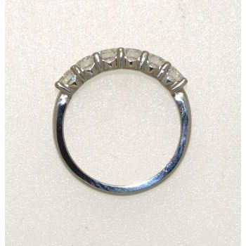 Diamond and Platinum Ring